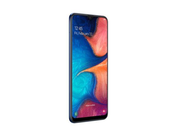 Samsung A20 Angle 2