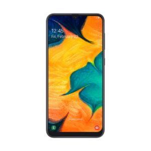 Samsung A30 Front