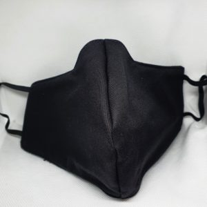 Black Mask Front