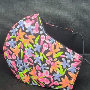 Flower Mask Side